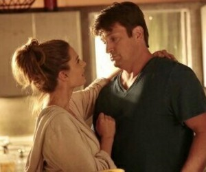 boy and girl, couple, and kate beckett image