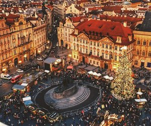 beautiful, christmas, and cities image