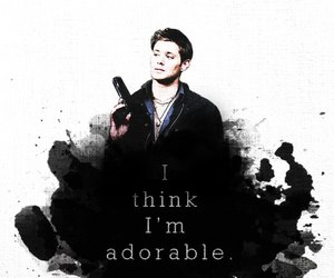 supernatural, adorable, and dean winchester image