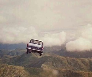 harry potter, car, and magic image