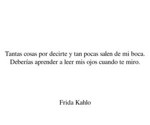 frases, español, and frida kahlo image