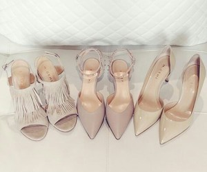 shoes, fashion, and Nude image
