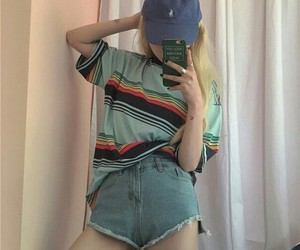 90s, girl, and blonde image