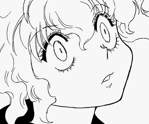hxh, manga, and neferpitou image