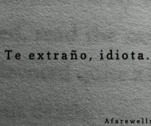 love, idiota, and frases image
