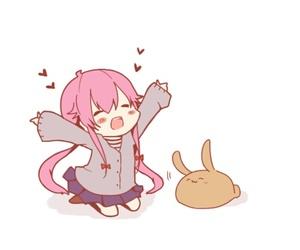 mirai nikki, anime, and chibi image