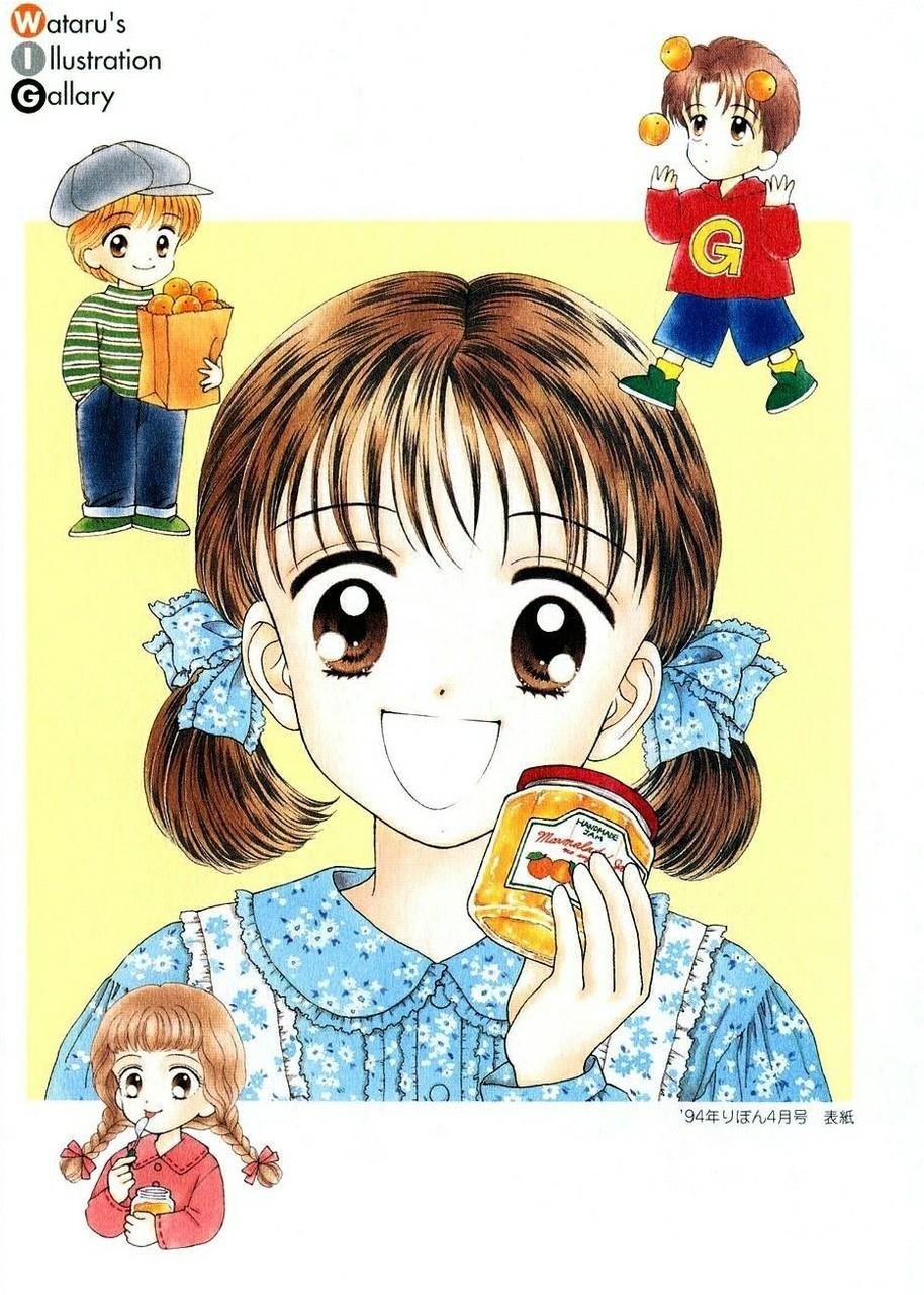 anime, amistad, and marmalade boy image