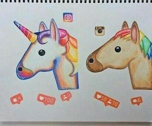 art, unicorns, and draw image
