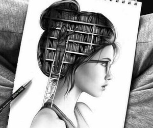 books, tumblr, and draw image
