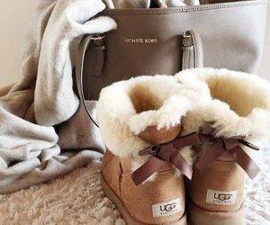 girl, boots, and Michael Kors image