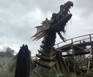 netherlands, themepark, and dragon image