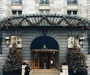 christmas, city, and cold image