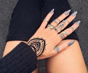 chic, fashion, and nails image