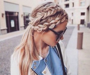 beauty, hairstyle, and hair image
