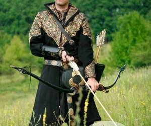 medieval costume archer image
