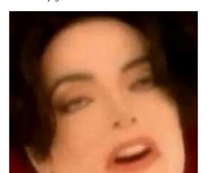 funny, king of pop, and me image