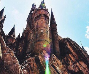 harry potter and castle image