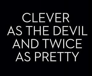 quotes, Devil, and pretty image