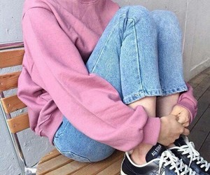 pink, tumblr, and aesthetic image