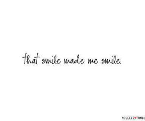 text and smile image