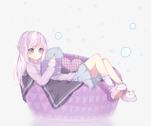 anime, cute, and anime girl image