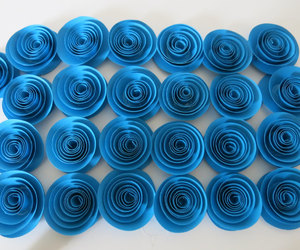etsy, paper roses, and wedding reception image
