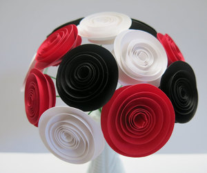 etsy, paper flowers, and wedding reception image