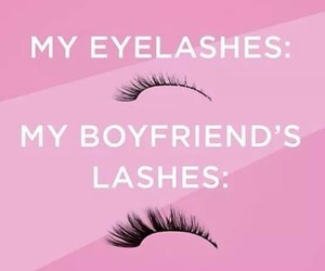 boyfriend, fact, and lashes image