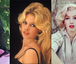 brigitte bardot, maria felix, and Marilyn Monroe image