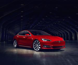 car, cars, and Tesla image