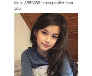 girl, pretty, and funny image