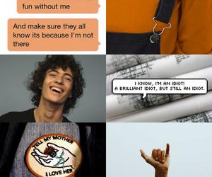 aesthetic, orange, and percy jackson image