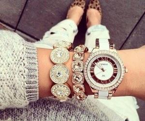 bracelet, clothes, and lux image
