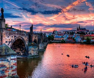 prague and place image