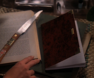 book, diary, and donna image