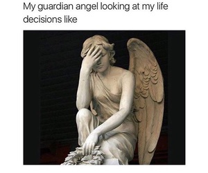 funny, angel, and lol image