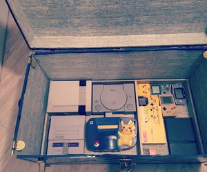 collection, console, and game image