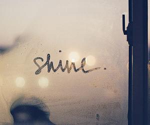 shine, window, and text image