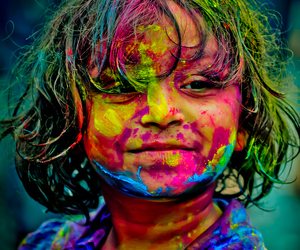 color, festival, and india image