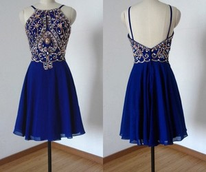 homecoming dress and homecoming dress blue image