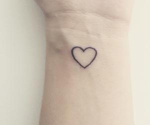 heart, tattoo, and iloveit image