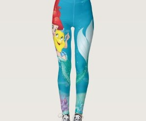 ariel, leggings, and cute image