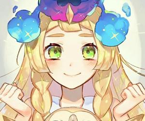 pokemon, anime girl, and lillie image