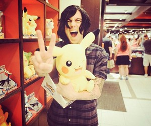 kellin quinn, sws, and pikachu image