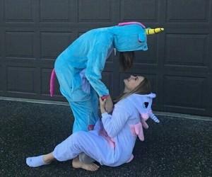 unicorn, friends, and friendship image