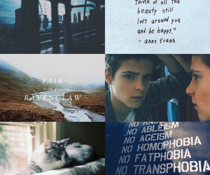 blue, boy, and harry potter image