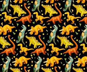 background, dinosaur, and pattern image
