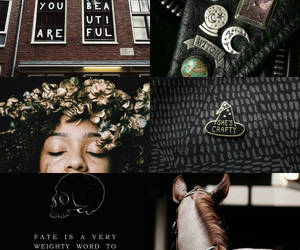 aesthetic, black, and gold image