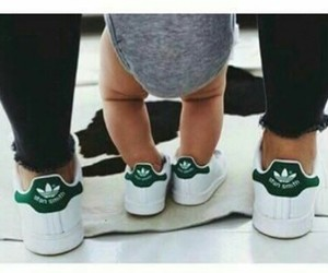 adidas, baby, and family image