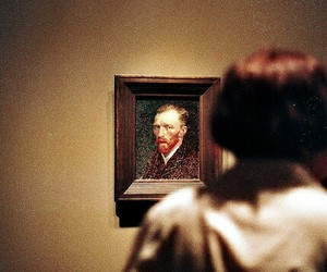 art, van gogh, and vintage image
